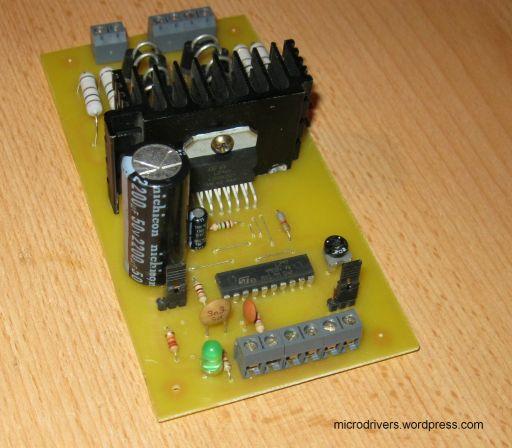 Stepper motor controller l297 l298n microdrivers for Micro stepper motor datasheet